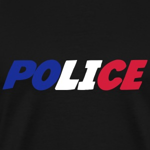 Police Tee shirts - T-shirt Premium Homme