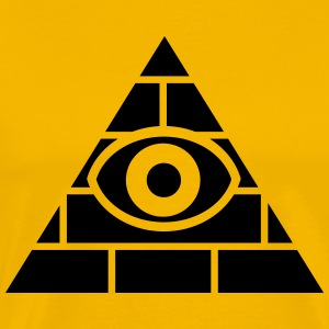 Illuminati all-seeing eye T-Shirts - Men's Premium T-Shirt