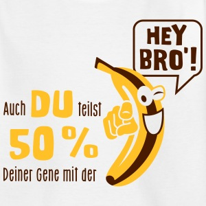 Banane - Gene - Spruch - Evolution - Affe - 2C T-Shirts - Teenager T-Shirt