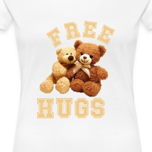 Hugs - Women's Premium T-Shirt