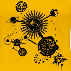 A planetary constellation T-Shirts - Women's Premium T-Shirt
