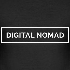 Digital Nomad - Make Money Online T-Shirts - Männer Slim Fit T-Shirt