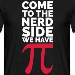 The Nerd Side - Pi T-shirts - Herre-T-shirt