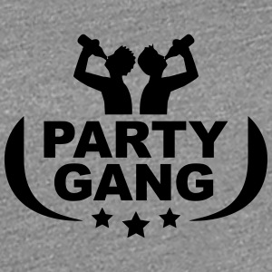 Party gang beer alcohol drink drinking T-Shirts - Women's Premium T-Shirt