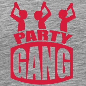 Party Gang Alcohol Drink Friends T-Shirts - Men's Premium T-Shirt