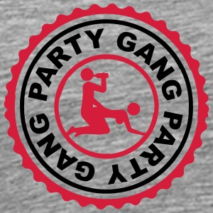 Gang Party alcool bière sexe baise porno timbre Tee shirts - T-shirt Premium Homme