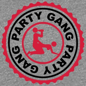 Party Gang Alcohol Beer Sex Fuck Porn Stamp T-Shirts - Women's Premium T-Shirt