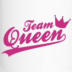 Team Queen - Bridalshower - JGA Tassen & Zubehör - Thermobecher