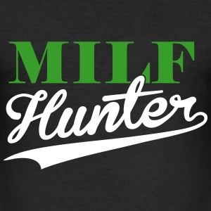 Milf Hunter 2C T-Shirts - Männer Slim Fit T-Shirt