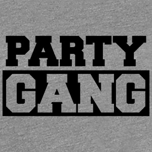 Party Gang Logo Design T-Shirts - Women's Premium T-Shirt