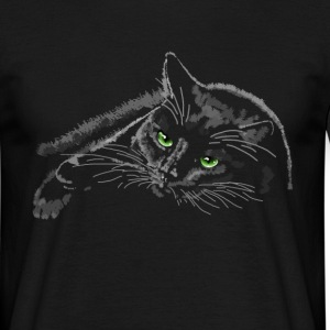 cat T-shirts - T-shirt herr