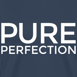 PURE PERFECTION T-Shirt (Herren Weiß/Flex) - Männer Premium T-Shirt