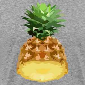 half pineapple T-Shirts - Men's Premium T-Shirt