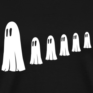 Ghost Familie T-shirts - Herre premium T-shirt