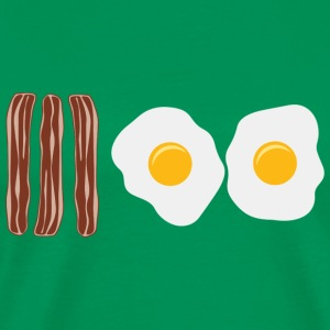 Bacon and Eggs T-Shirts - Men's Premium T-Shirt