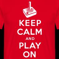 Motiv ~ Keep Calm Game On - Joystick