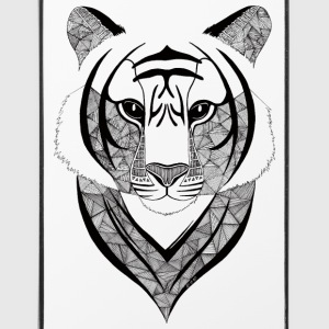 Coque iPhone 4/4S Tigre design - Coque rigide iPhone 4/4s
