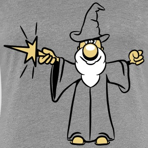 Wizard toverstaf magic Hat grappig T-shirts - Vrouwen Premium T-shirt