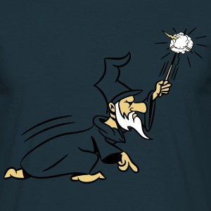 Wizard toverstaf magic Hat aanval T-shirts - Mannen T-shirt
