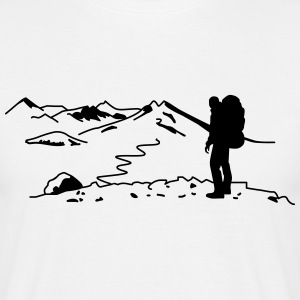 Backpacker - Wanderer T-Shirts - Männer T-Shirt