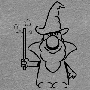 Wizard toverstaf magic Hat T-shirts - Vrouwen Premium T-shirt