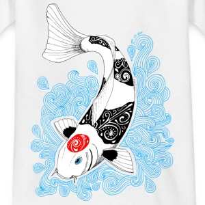 Tee-shirt Carpe Koi design  - T-shirt Enfant