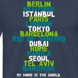 Berlin New York Istanbul Paris London Tokyo T-Shirts - Männer Premium T-Shirt