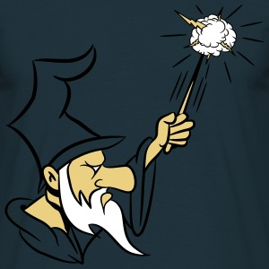 Wizard wand grim nasty T-Shirts - Men's T-Shirt
