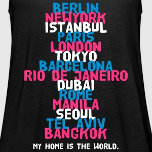 Berlin New York Istanbul Paris London Tokyo Tops - Frauen Tank Top von Bella