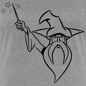 Wizard Magic Hat toverstaf grim T-shirts - Vrouwen Premium T-shirt
