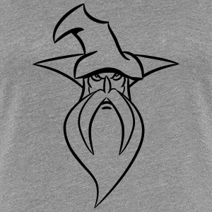 Wizard Magic Hat grim T-shirts - Vrouwen Premium T-shirt