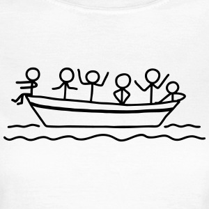 Party an Bord - Partyboot T-Shirts - Frauen T-Shirt