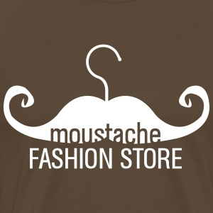 Moustache hanger Fashion Store T-Shirts - Men's Premium T-Shirt