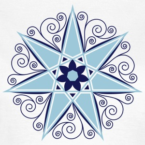 Elven Star, Heptagram, Fairy Star, Pagan, Wicca T-shirts - Vrouwen T-shirt