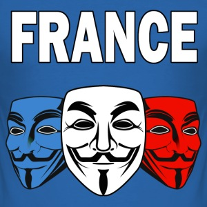 anonymous france 01 Tee shirts - Tee shirt près du corps Homme