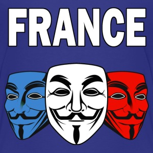 anonymous france 01 Tee shirts - T-shirt Premium Ado