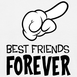 Best Friends Forever (right) T-Shirts - Men's T-Shirt