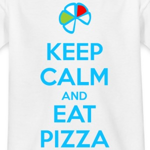 Keep Calm and Eat Pizza 1 Shirts - Kids' T-Shirt