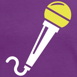 Microphone T-Shirts - Women's Ringer T-Shirt