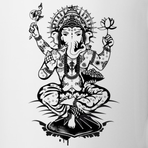 Ganesh, a god with an elephant head  Bottles & Mugs - Mug