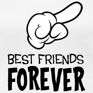 Best Friends Forever (right) T-Shirts - Women's Premium T-Shirt