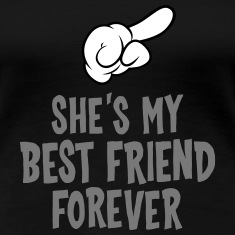 She´s My Best Friend Forever (right) T-Shirts