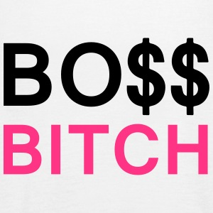 Boss Bitch Tops - Women's Tank Top by Bella