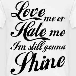 Love Hate T-shirts - T-shirt herr