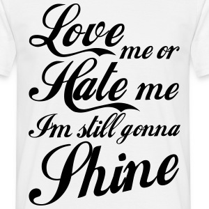 Love Hate Tee shirts - T-shirt Homme