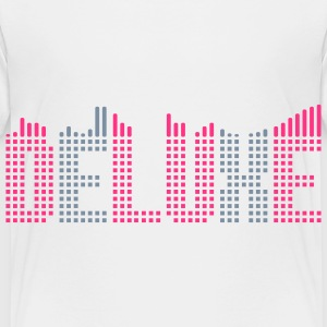 Deluxe music equalizer Shirts - Kinderen Premium T-shirt