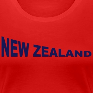 New Zealand T-Shirts - Frauen Premium T-Shirt