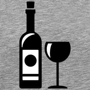 Romantic wine T-Shirts - Men's Premium T-Shirt