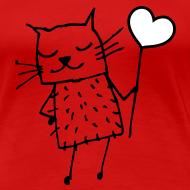 Motiv ~ Katze -  Liebe, Love und Herz
