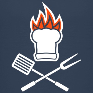 Barbecue on fire Shirts - Teenage Premium T-Shirt